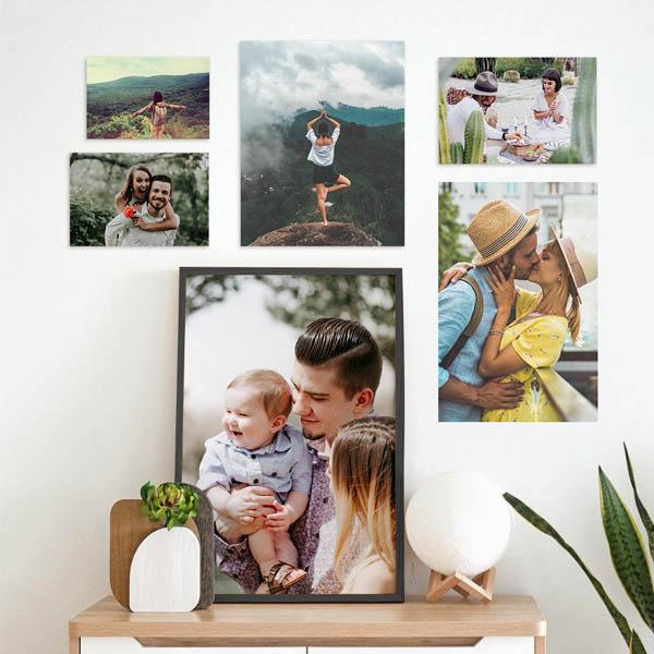 Stampa Ingrandimenti Foto 20x30, 30x45, 50x75 con astine o cornici ciaoalt